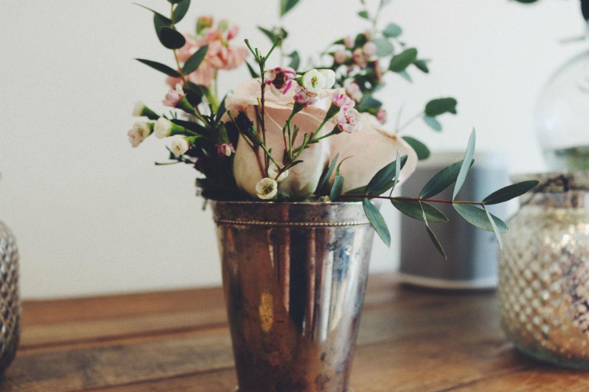 fleur baby shower champetre